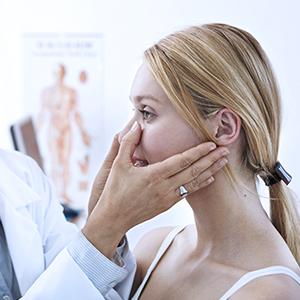 Закрытие перфорации носовой перегородки